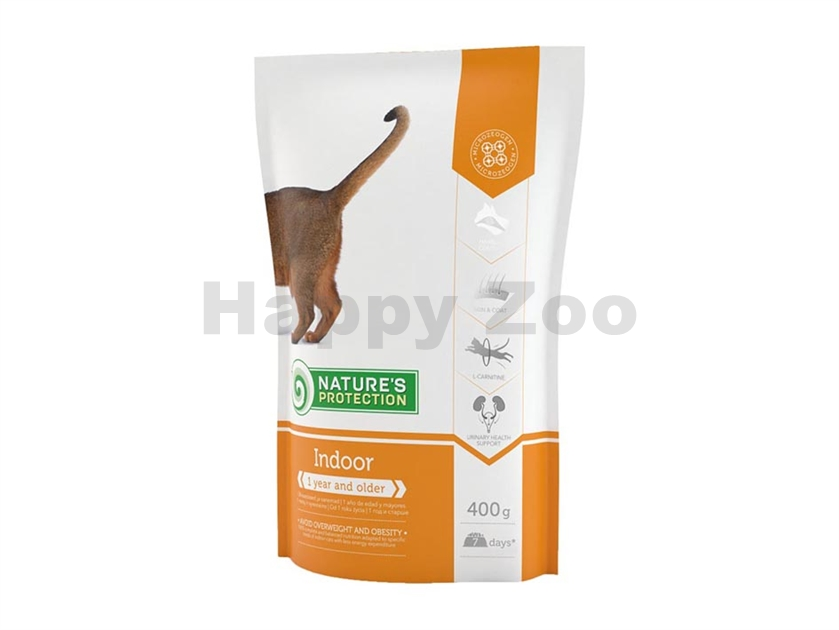 NATURE´S PROTECTION Cat Indoor 400g