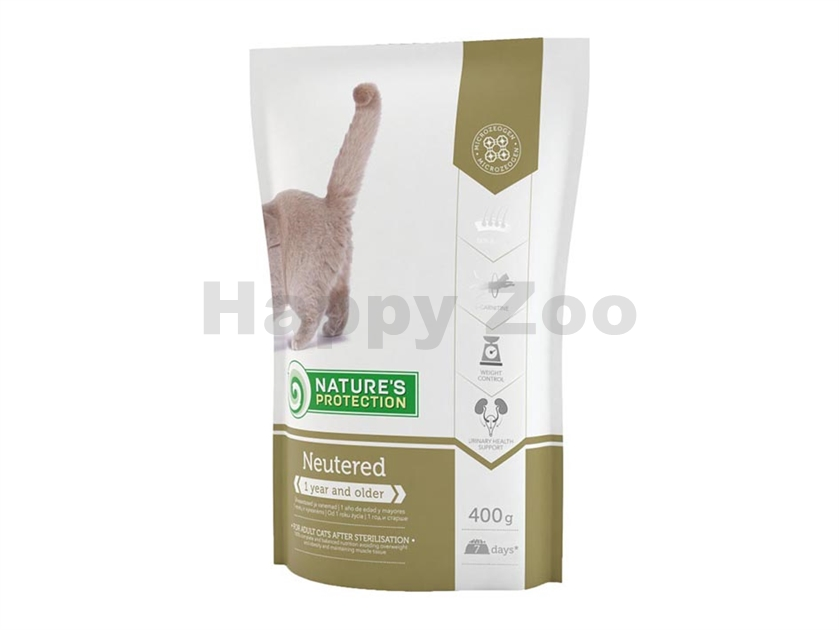 NATURE´S PROTECTION Cat Neutered 400g