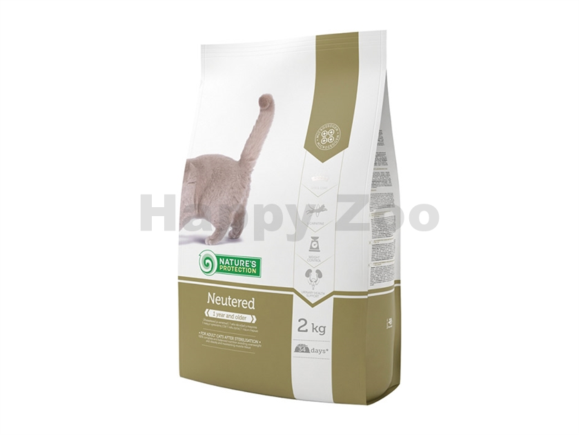 NATURE´S PROTECTION Cat Neutered 2kg