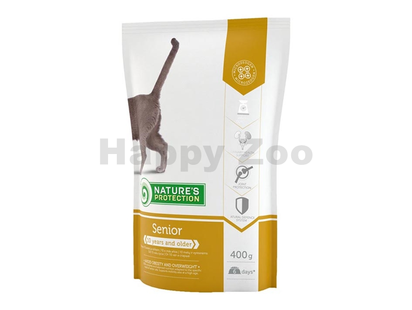 NATURE´S PROTECTION Cat Senior 400g