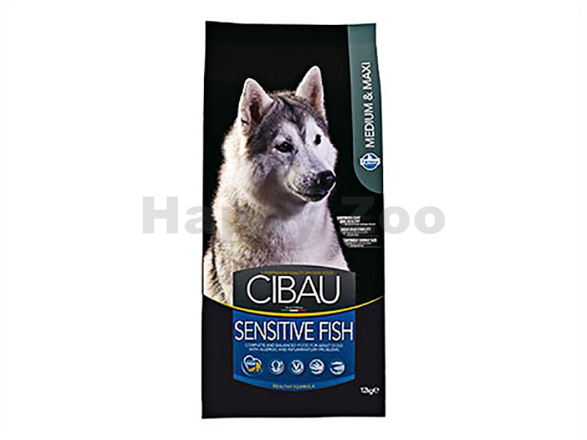 CIBAU Adult Sensitive Fish & Rice 12kg