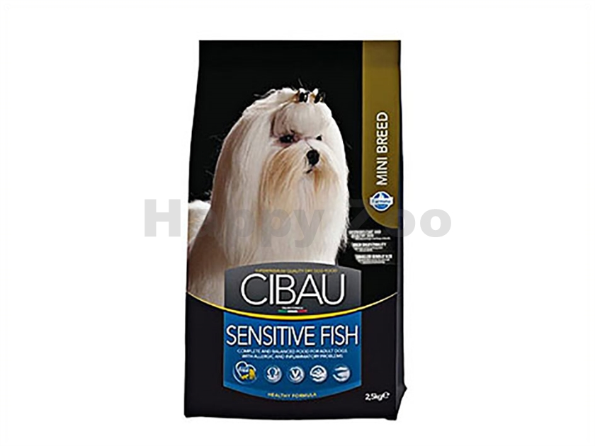 CIBAU Adult Mini Sensitive Fish & Rice 2,5kg
