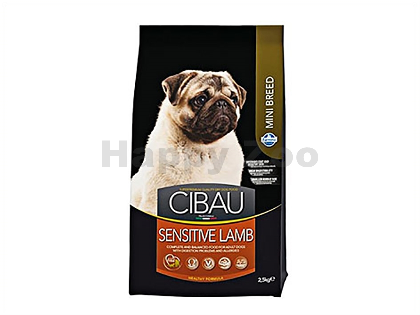 CIBAU Adult Mini Sensitive Lamb & Rice 2,5kg
