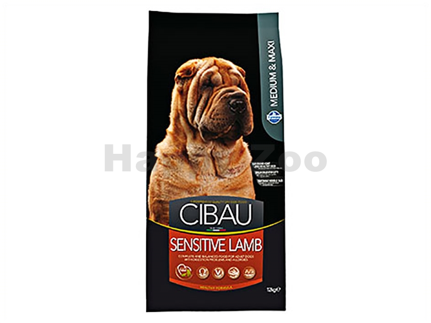 CIBAU Adult Sensitive Lamb & Rice 2,5g