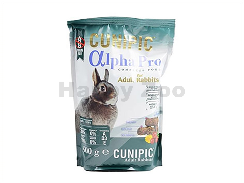 CUNIPIC Alpha Pro Rabbit Adult 500g