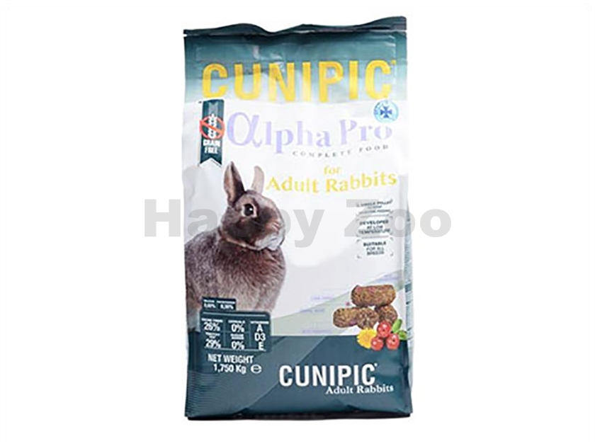 CUNIPIC Alpha Pro Rabbit Adult 1,75kg