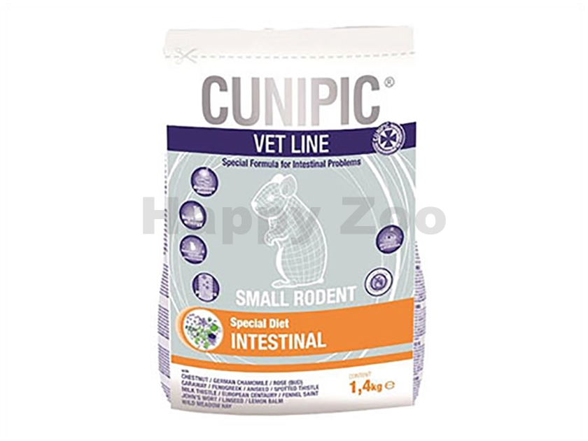CUNIPIC Vet Line Small Rodents Intestinal 1,4kg