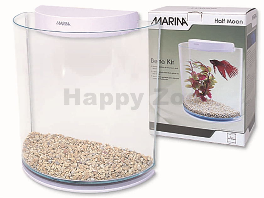 Akvárium MARINA Betta Kit Half Moon (3l)