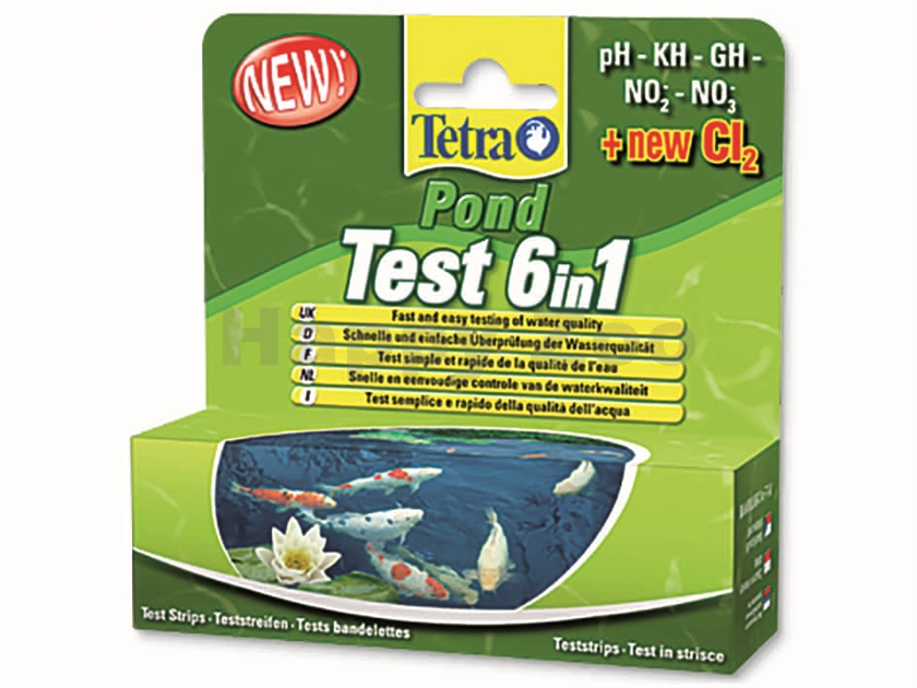 TETRA Pond Test 6in1 (25ks)