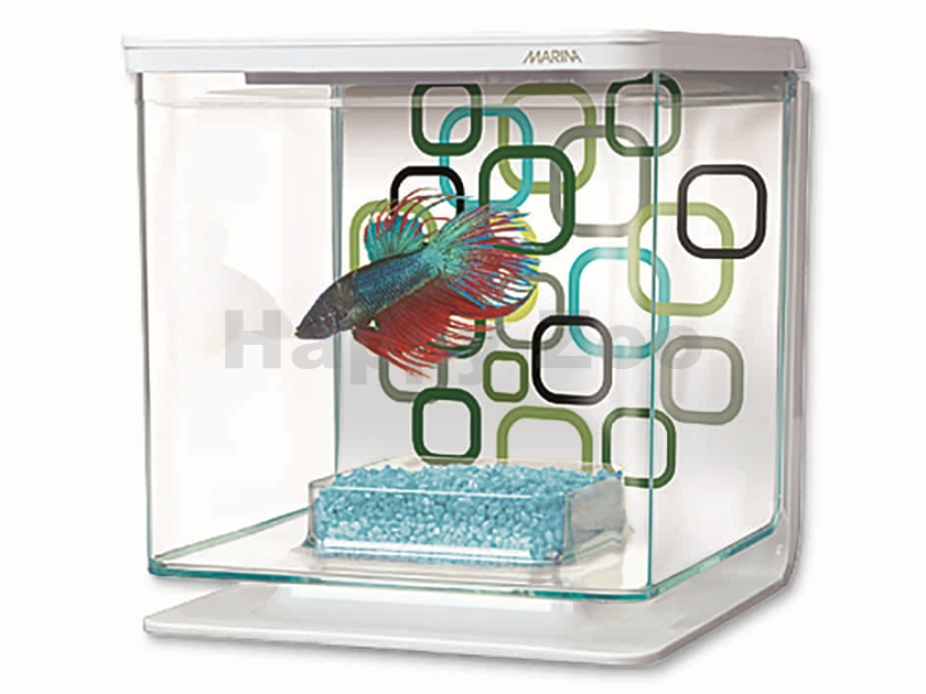 Akvárium MARINA Betta Kit Geo Bubbles (2l)