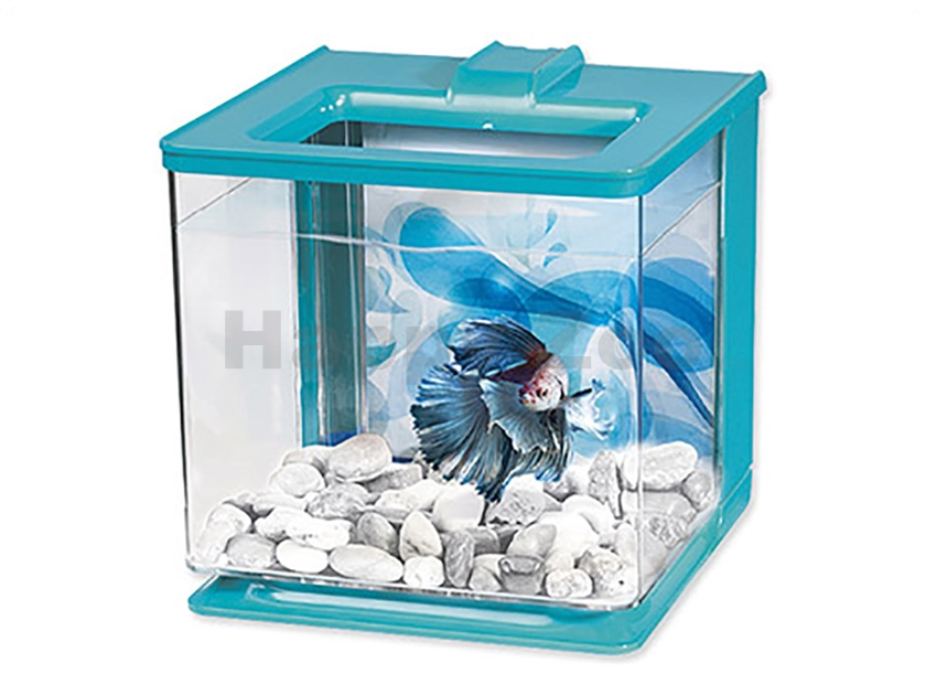 Akvárium MARINA Betta EZ Care Kit modré (2,5l)