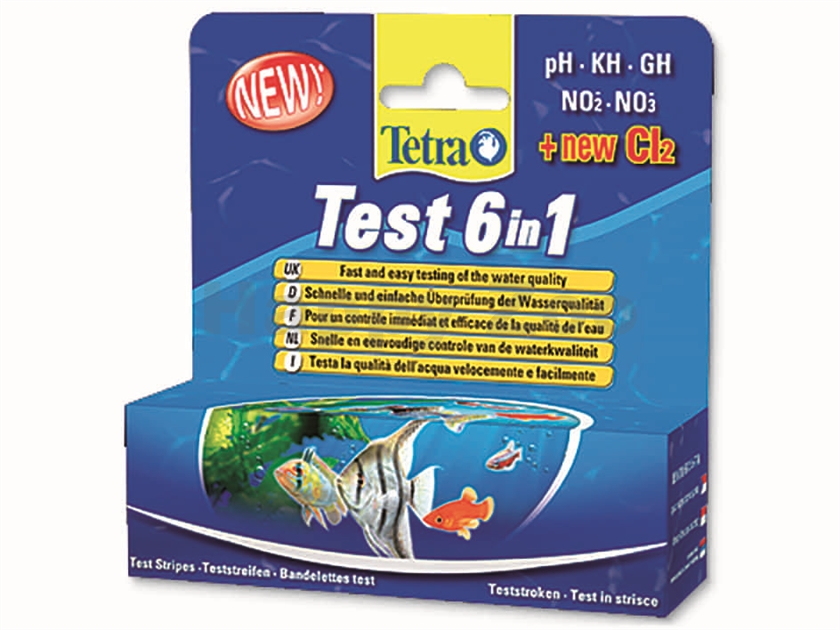 TETRA Test 6 in 1 (25ks)