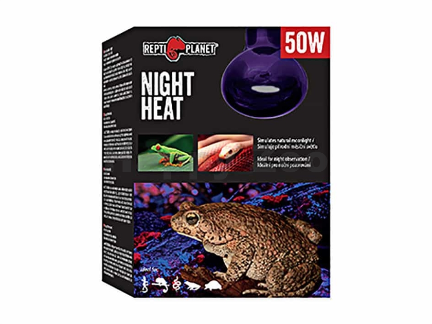 Žárovka REPTI PLANET Night Heat (50W)