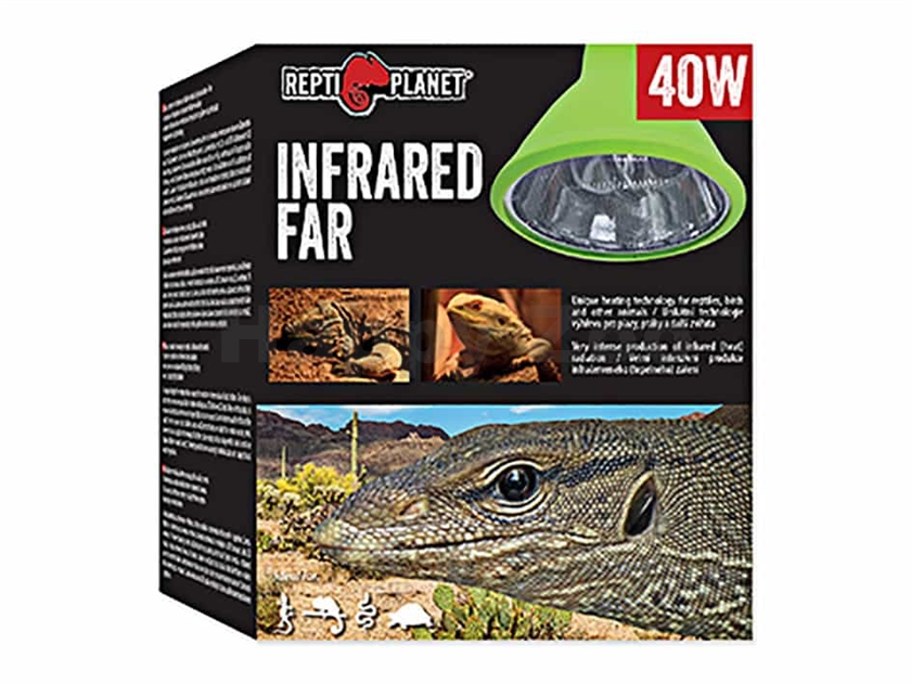 Žárovka REPTI PLANET Infrared Far (40W)