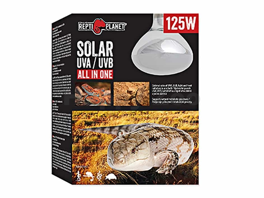 Žárovka REPTI PLANET Solar UVA/UVB All In One (125W)