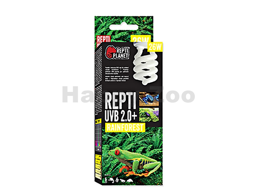 Žárovka REPTI PLANET Repti UVB 2.0+ Rainforest (26W)