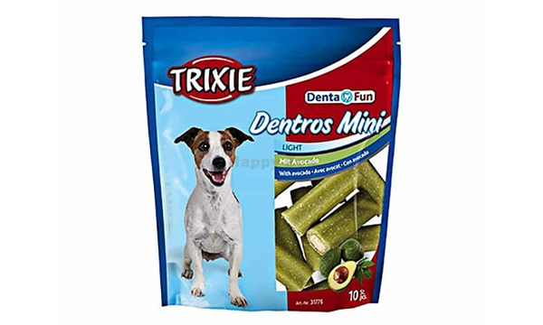 TRIXIE Dentros Mini Light s avokádem 140g (10ks)