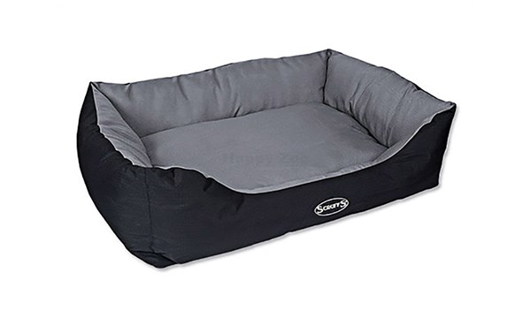 Pelech SCRUFFS Expedition Box Bed šedivý (XL) 90x70cm