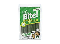 BRIT Lets Bite Tidy Teeth! Munchin´ Mineral 105g