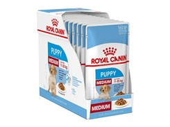 Kapsička ROYAL CANIN Medium Puppy 10x140g (multipack)