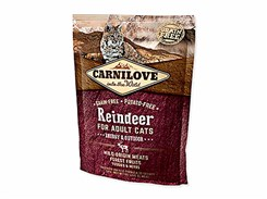 CARNILOVE Cat Reindeer for Adult Cats Energy and Outdoor 400g (EXSPIRACE)