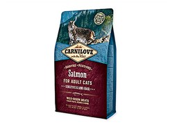 CARNILOVE Cat Salmon for Adult Cats Sensitive and Long Hair 2kg