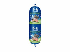 BRIT Cat Premium by Nature Sausage Chicken & Duck 180g