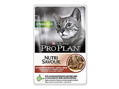 Kapsička PRO PLAN Cat Sterilised Beef 85g