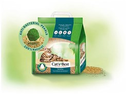 Podestýlka CATS BEST Sensitive Green Power 8l (3,2kg)