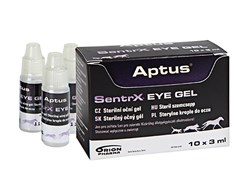ORION PHARMA APTUS SentrX Vet Eye Gel 10x3ml