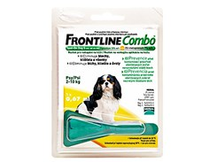 FRONTLINE Combo Spot-on Dog (S) 1x0,67ml (pro psy 2-10kg)