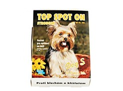 TOP Spot-on Dog (S) 1x1ml (pro psy do 15kg)