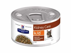 Konzerva HILLS Feline Stew K/D with Chicken & Vegetables 82g