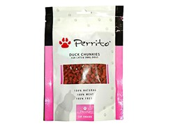 PERRITO Duck Chunkies for Cats and Small Dogs 100g