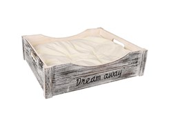 Pelech FLAMINGO Clio Dream Away bílý 45x38x12cm