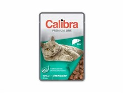 Kapsička CALIBRA Cat Premium Sterilised Liver 100g