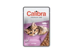 Kapsička CALIBRA Cat Premium Kitten Salmon 100g