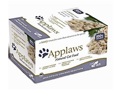 Multipack miska APPLAWS Cat - Chicken Selection 8x60g