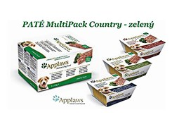 Multipack paštika APPLAWS Dog - Country Green 5x150g