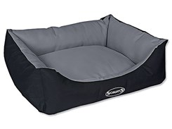 Pelech SCRUFFS Expedition Box Bed šedivý (M) 60x50cm