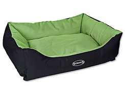 Pelech SCRUFFS Expedition Box Bed limetkový (L) 75x60cm