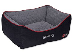 Pelech SCRUFFS Thermal Box Bed černý (L) 75x60cm